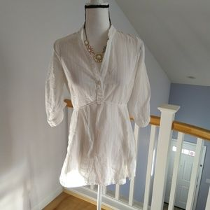 Odille Anthropologie blouse size 8